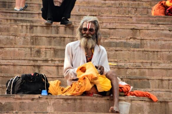 guru on the ghat