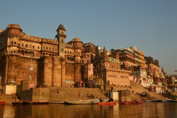 Varanasi's storied riverfront