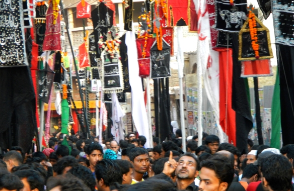 Shia procession in old Dhaka